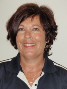 Receptionist Karen Bradley
